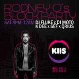 Dj Fluke - KIIS FM - Rodney O's Block Party 29/10/2016
