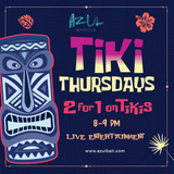 Tiki Thursdays LIVE with Erwinsaz and The Hitmen (June 22nd)
