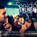 """SET #28 - DJ SET - G-POLO - PODCASTS -  En """"sonidos en linea"""" - La Alternativa Radio - CECUAL"""