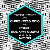 Chris Moss Acid (Live PA) @ Moog Presents Polybius Trax  #11 - Moog Club Barcelona - 02.12.2016