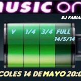 Dj Fabian Peña - Music One 2015