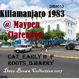 Killamanjaro @ Maypen Clarendon_ Early B-S Cat-P Roots_D Harry-Burro_ Ainsley 1983 (DB #013)
