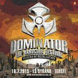 Paul Elstak @ Dominator Festival 2015