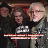 Brad Whitford (Aerosmith) & Derek St. Holmes Interview
