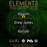 Elements Live Pt 2 | April 2018