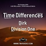 Dirk - Host Mix - Time Differences 334 (7th October 2018) on TM Radio