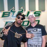 Pirate Radio Invasion (USF) - 4-30-2011- Dj Smallz and Drumma Boy Interview pt. 1
