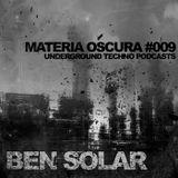 Materia Oscura 9 - Djset @ Solarized - Underground Techno podcasts