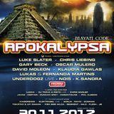 DJ Flesh @ Apokalypsa Mayan code, 30.11.2012, BVV Brno