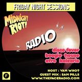 Midnight Riot Radio with guest Sam Pills host Yam Who? 10 - 1 -20