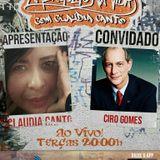 Programa Um Mergulho na Vida 13.03.2018 Claudia Canto e Ciro Gomes
