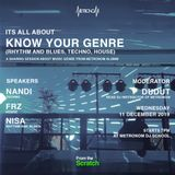#PODCAST Know Your Genre @MetronoM with N/A, FRZ, DJ Nisa & Alithebeat
