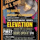 DJ Biskit Live Elevation Biskit's BDay Bash 8-3-18