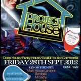 DJ SACHY - PROJECT HOUSE PROMO MIX (28th Sept 2012)