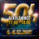 50h - Alkulämmöt (11:00 - 13:00)