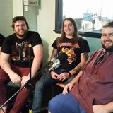 The Flame Fields interviewed by Mick Griffin for the Rock Bottom radio show