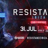 Carl Cox @ Resistance Ibiza Week 3 (Carl's Birthday), Privilege Ibiza - 31 July 2018