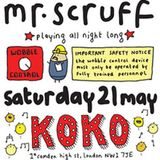 Mr Scruff Live at KOKO (6 hour Bootleg)