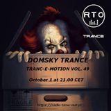 tranc-E-motion vol 49 mixed by domsky