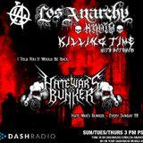 1/24/16 - Killing Time With Hatewar on Los Anarchy Radio - Sacrifice Of The Nazarene Child