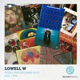 Lowell W 4th December 2015