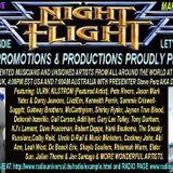 The Nightflight Radio Show from  7th March 2014 with DJ McScotty aka Steve Perz