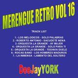 MERENGUE RETRO VOL 16 By DeeJayYORK