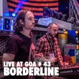 Borderline   Goa Año Nuevo   Nefertiti   01 Enero 2014