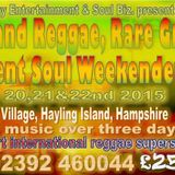 Hayling Island Fitzroy's Soul Surviving Reggae & Lovers Version Excursion Selection 22-2-2015 Gwarn!