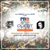 QUEST In The Mix # 125 - Guest Mix: ADHD & ALEX INC @ Polish Radio London / 12.10.2018