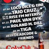 Coke Club & NVC pres. Casino Bangkok - Roland M. Dill (dj set) 30 July 2011