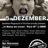 """""""In Noise we trust!"""" 05.12.15 @ Super Schwarzes Mannheim PART I"""