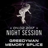 Soundtraffic Night Session - 04/05.02.2017 - GreedyMan & Memory Splice