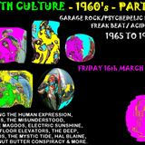 Youth Culture - The 1960's Part 2 - 16th March 2018.