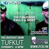 Cratefast Show on ItchFM with The PBrothers (01.11.15)
