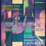 Spacebirds - 120 bpm Of Electronic Hearth (Live Set)@Guslitsa, 2018-02-17