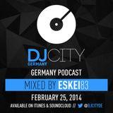 ESKEI83 - DJcityDE Podcast - 25/02/14
