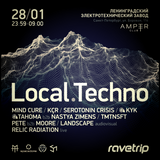 Mind Cure -  Local.Techno 12 Set [28.01 @ Amper SPb]