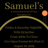 Live Set @ Samuel's At The Basketball Hall Of Fame 8-10-19 Part 1