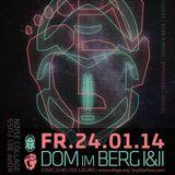 Live at Dom im Berg 24/01/2014