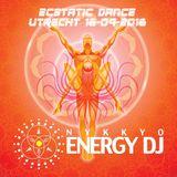 Nykkyo Energy DJ - Ecstatic Dance Utrecht 16-09-2016