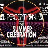 PERCEPTION SUMMER CELERBRATION 1991 - GROOVERIDER
