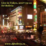 DJ Bolivia - Live in Tokyo, CD1