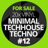 SOLD!! 20x Vinyl Minimal-Techno-TechHouse #12