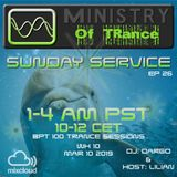 Uplifting Trance - Ministry of TRance Sunday service EP26 WK10 March 10 2019