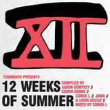 12 Weeks Of Summer mix, mixed by Conor L
