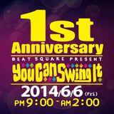 2014.5.13 MrSwing aka DJ Chicano 40min nonstop mix,歡迎參加6月6日You Can Swing It 1周年派對.
