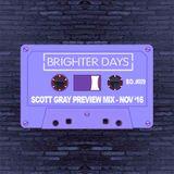 Scott Gray Preview Mix - Nov 16