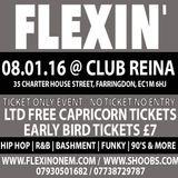 FLEXIN' PROMO CD (HIP HOP / BASHMENT / GARAGE / OLD SCHOOL)