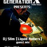 Generation X [RadioShow] pres. DJ SLIM (Liquid Rollers) on the Guest Mix @NU-RAVE.COM - 07Nov2013